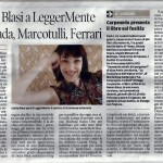 Messaggero Veneto, 09.09.2015